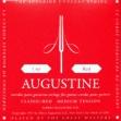 Juego Cuerdas Nylon Agustine Para Guitarra sobre Rojo  Made in USA
