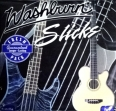 Juego De 5 Cuerdas Para Bajo  Washburn  L - 500 = 040 - 060 - 080 - 100 - 1.25  Made In USA