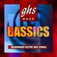 Juego de 4 Cuerdas GHS  M 6000 = 44 - 63 - 84 - 106