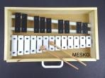 Metalófono 22 Notas Cromático, Placas Grandes de Aluminio