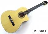 Guitarra Takto by Mesko Cuerdas Nylon con Equalizador  4 Bandas Activo