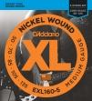 Juego de Cuerdas de 5 Cuerdas D´Addario EXL160-5    50 - 70 - 85 - 105 - 135