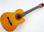 Guitarra Memphis Cuerdas Nylon con Tono y Volumen Sistema Pasivo