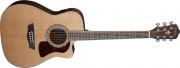 Guitarra Washburn HF 11 SCE Cuerdas Metálicas, Electroacústica, Equalizador Fishman con Afinador