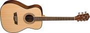 Guitarra Washburn Cuerdas Metálicas Wf 5 K Con Estuche Duro