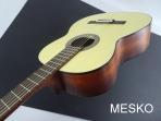 Cort AC 100 DX - OP  Opaca, Guitarra Cuerdas Nylon, Incluye Funda