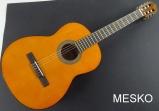 Cort  AC 100 DX - YT, Guitarra Clásica  Brillante, Cuerdas Nylon, Incluye Funda
