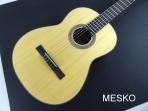 Guitarra Cort AC 200  - OP  Opaca, Cuerdas Nylon  Incluye Funda