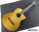 Guitarra Cort AC 250 CF  ANT  Con Equalizador Fishman, Cuerdas Nylon