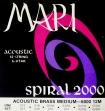 Juego Cuerdas de Acero Para guitarra 12 Cuerdas Mari Spiral 2000  =  012  - 052