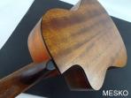 Guitarra Cort Cuerdas Nylon Electroacústica  AC 120 CE - Equalizador Cort 3 Bandas