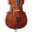 Violoncello Cremona SC - 130 = 4/4 Incluye Funda Acolchada, Arco y Resina, Producto Original