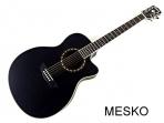 Guitarra Washburn WF 18 CEB Electroacústica Cuerdas metálicas con Equalizador Fishman con Afinador