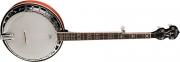 Banjo Washburn B 16  Americano 5 Cuerdas, Caja de Arce (Maple) Parche Remo Tarnsparente, 24 Tiradores