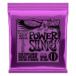 Juego Cuerdas Guitarra Eléctrica Ernie Ball 2220 Power Slinky Made In U S A  - 11 - 14 - 18 P - 28 - 38 - 48 Made In U S A