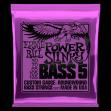 Juego de 5 Cuerdas Ernie Ball 2821 Power Slinky 050 - 070 - 085 - 105 - 135
