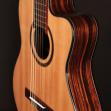 Guitarra Cort AC 160 CFTL Cuerdas Nylon con Equalizador  Fishman Incluye Funda
