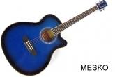 Guitarra Valenciana Cuerdas Metálicas con Equalizador Incluye Funda, AZ