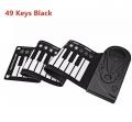 Piano Portátil Electrónico Pegable 49 Teclas  10 Ritmos 16 Tonos de Funciones