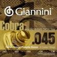 Juego de Cuerdas Giannini Cobra  para Bajo Acustico Phosphor Bronce 045 - 065 - 080 - 100