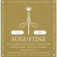 Juego Cuerdas Nylon Agustine Imperial  Para Guitarra  Clasica Made in USA