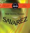 Juego De Cuerdas Nylon Savarez 540 CR New Cristal Classic  Alta Tensión