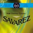 Juego De Cuerdas Nylon Savarez 540 CJ New Cristal Classic  Alta Tensión