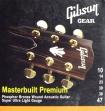 Juego de Cuerdas Gibson Masterbuilt Premium Para Guitarra Eléctrica 10 - 14 - 23 - 30 - 39 - 47   USA