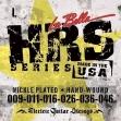 Juego Cuerdas Guitarra Eléctrica Labella HRS  L 09 - 011 - 016 - 026 - 036 - 046
