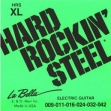 Juego Cuerdas Guitarra Eléctrica La Bella HRS XL HARD ROCKIN STEEL  09 - 011 - 016 - 024 - 032 - 042