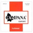 Juego Cuerdas Nylon Campana CEX 20 Plateadas