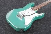 Guitarra Electrica Ibanez GRX - 40 Verde 22 Espacios