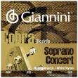 Juego Cuerdas Giannini Cobra para Ukelele Modelo  Soprano - Concierto