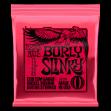 Juego de Cuerdas Ernie Ball Burly Slinky 2226 Para Guitarra Eléctrica 11-14.18p-30-42-52