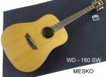 Guitarra Washburn WD - 160 SW  Construidas en Maderas Solidas