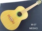 Guitarra Mesko M-07  Cto. Tamaño Standar  Cuerdas  Nylon