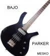 Bajo Parker Guitarj  4 Cuerdas  Indonesia