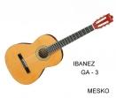Guitarra Ibanez GA - 3 Clásica Cuerdas Nylon Electroacustica y Equalizador con Afinador Activo  Belcat 7545