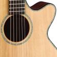 Guitarra Cort SFXE - NS Cuerdas Metalicas con Equalizador Cort CE 304T Incluye Funda