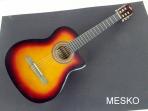 Guitarra Oscar Schmidt C -5 Cuerdas Nylon Sistena Pasivo  Tono Volumen