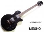 Guitarra Eléctrica  MEMPHIS FT - LP - BK Standar  Negra  ( 5 )