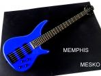 Memphis  FTSRB 5 BL  Azul 5 Cuerdas  24 Espacios 2 Capsulas ( 7 )