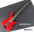 Memphis  FTSRB 5 RED  Rojo 5 Cuerdas  24 Espacios 2 Capsulas ( 7 )