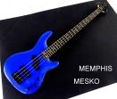 Memphis  FTSRB 4 BL  Azul 4 Cuerdas  24 Espacios 2 Capsulas ( 8 )
