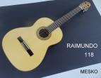 Guitarra Raimundo 118 Española Clásica Cuerdas Nylon