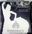 Juego Cuerdas Nylon Hannabach 827 MT Media Tensión Flamenco