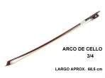 Arco para Cello Econ 3/4  -  68,5 cm  de Largo  Aproximado  ( 5 )