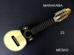 Markama, Charango Tallado, Tapa Pino Abeto Caja Naranjillo, Contruido con Maderas Solidas,  Incluye Funda ( 23 )