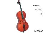 Cervini by Cremona, Cello HC-100 - 3/4 Incluye Arco y Funda