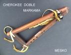 Cherokee Doble, Madera Jacarandá, Amarres de Cuero   Afinado en SI